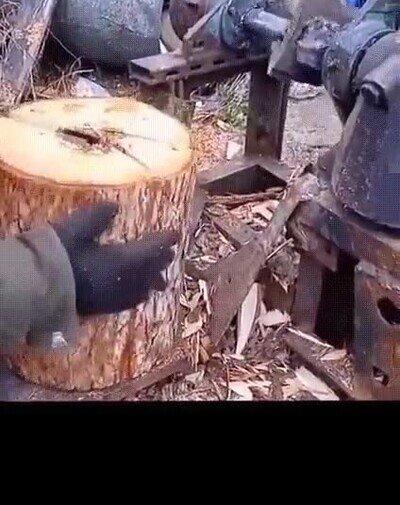 Enlace a Cómo cortar leña sin cansarte demasiado