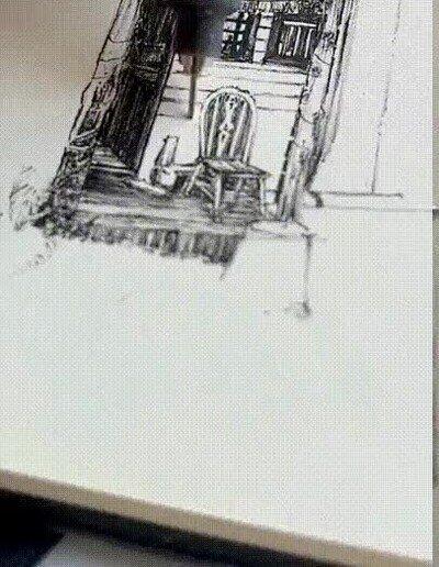 Enlace a Es una pasada lo que hace la gente que puede dibujar bien