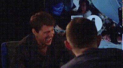 Enlace a Tom Cruise reaccionando a sus memes