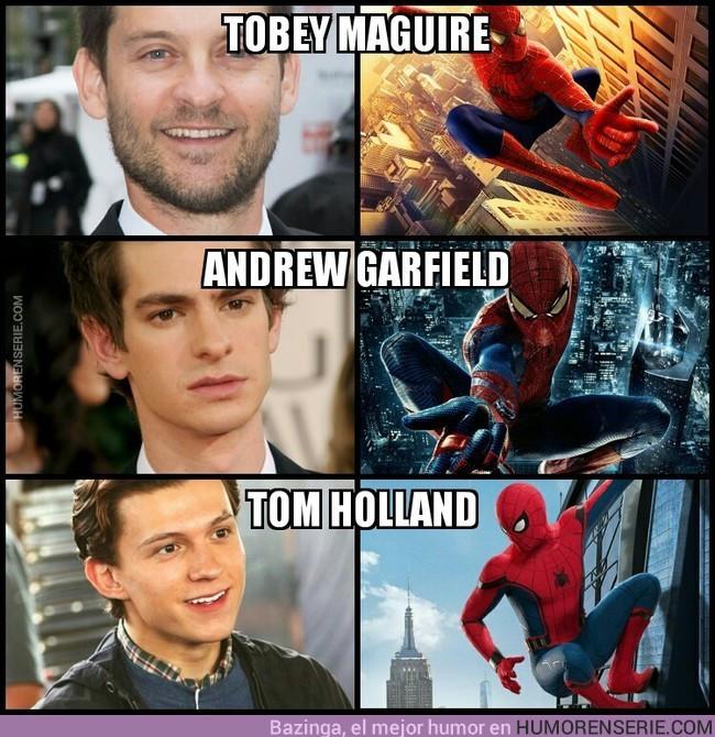 16801 - ¿Quién hace mejor de Spider-Man?