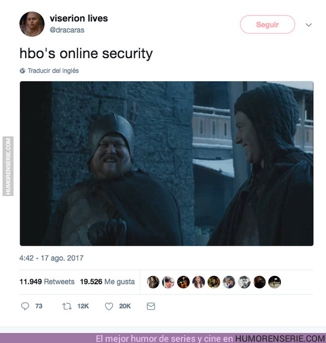16878 - La seguridad online de HBO