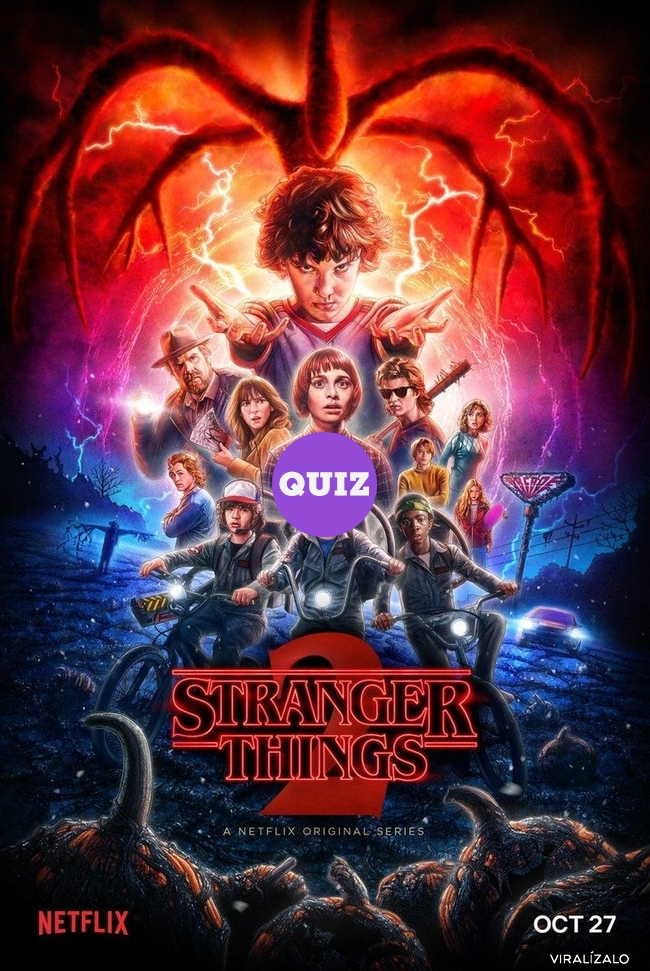 21219 - TEST: ¿Cuánto sabes de Stranger Things?
