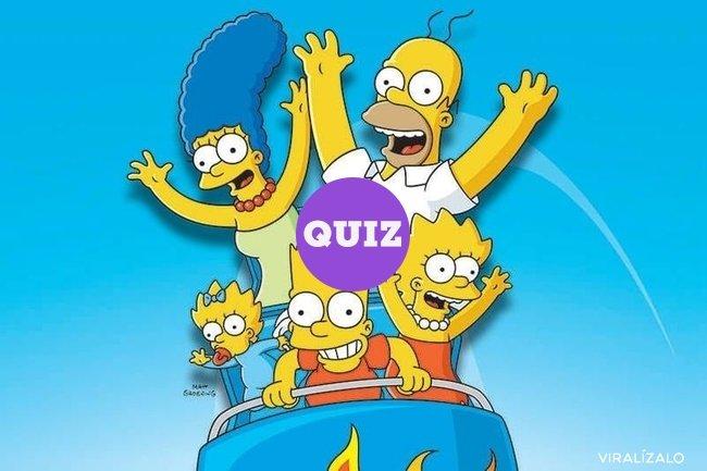 21722 - TEST:¿Cuánto sabes de los Simpson?