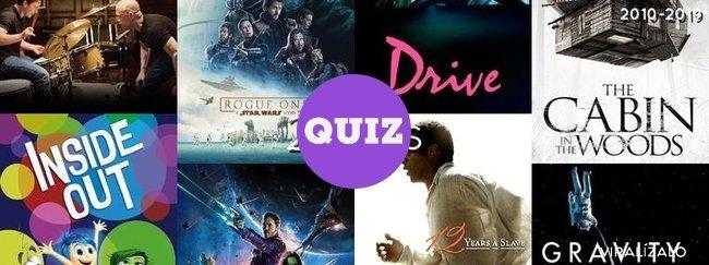 21853 - TEST: ¿Qué películas fueron las mejores de la década del año 2010?