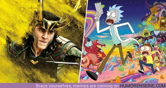 35081 - ¿Qué tienen común la serie de Loki y Rick y Morty? Te cuento los motivos por los que tendrías que empezar a tener hype