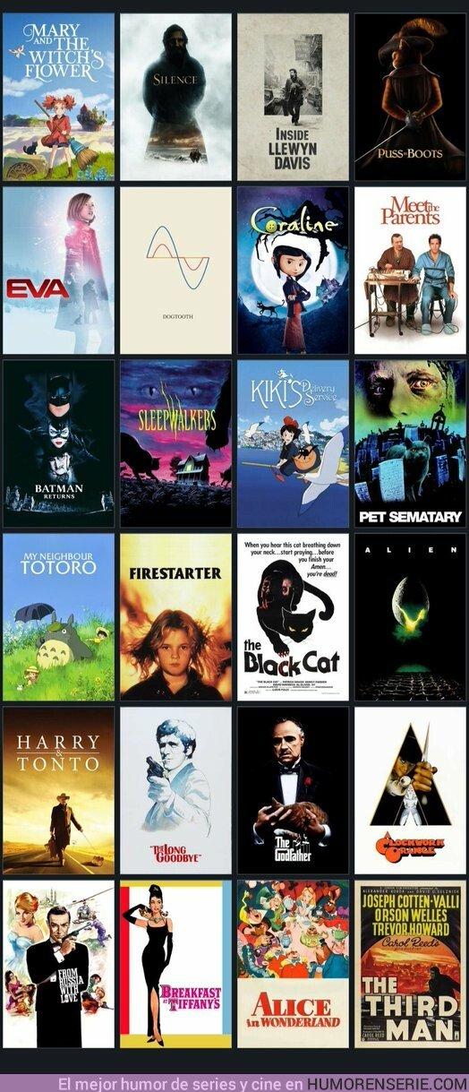 35167 - Hoy es el Día Internacional del Gato y estas son las mejores películas que puedes ver con un gato protagonista