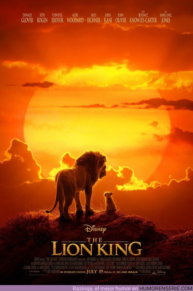 35352 - Este es nuevo póster de la peli de El Rey León. Imposible no emocionarse