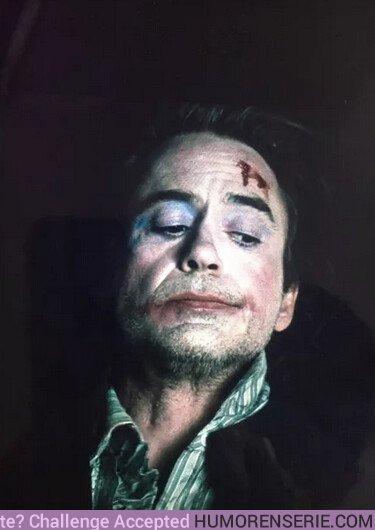 35524 - La prueba de que Robert Downey Jr sería un buen Joker