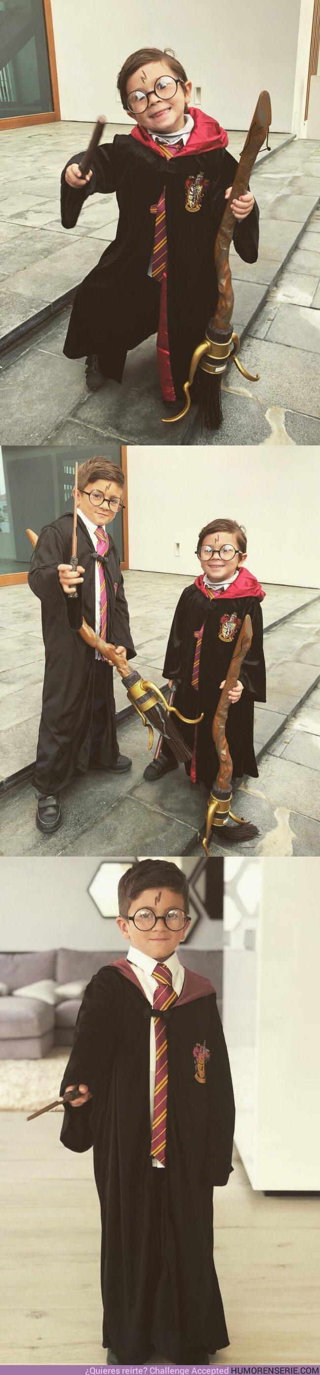35532 - GALERÍA: Los hijos de Messi disfrazados de Harry Potter son lo mejor que verás en todo el día
