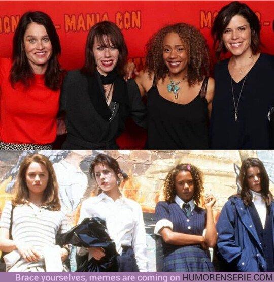 35890 - El reparto de 'Jóvenes y Brujas' se reúne más de 20 años después