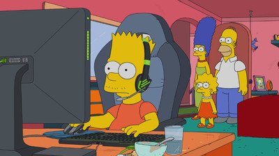 36110 - De esta forma tan genial ha salido League of Legends en el último capítulo de Los Simpson