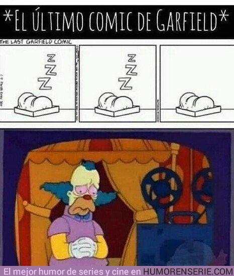 36171 - Ver cómo termina el último cómic de Garfield te dará ganas de llorar
