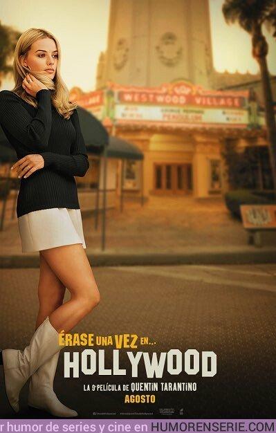 36176 - Segundo póster de #onceuponatimeinhollywood con Margot Robbie.
