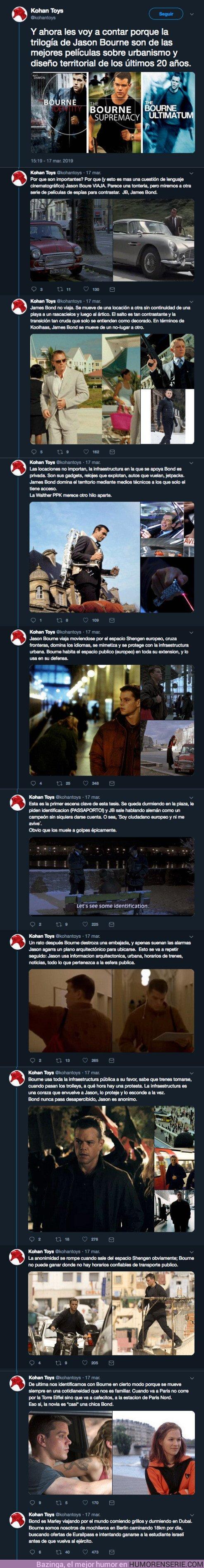 36198 - ¿Por qué Jason Bourne es una de las mejores películas sobre urbanismo de los últimos 20 años