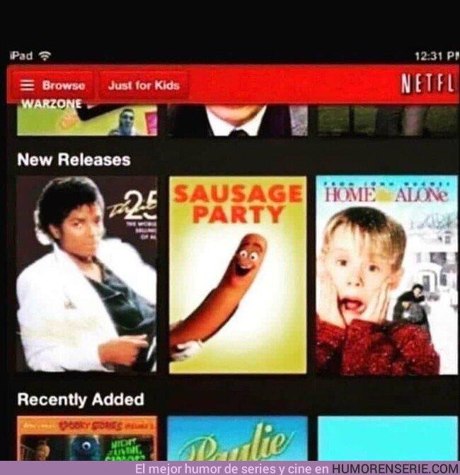 36201 - A veces las recomendaciones de Netflix pueden ser muy caprichosas
