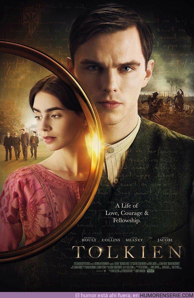 36468 - Póster final de Tolkien, la película del creador de El Señor de los Anillos