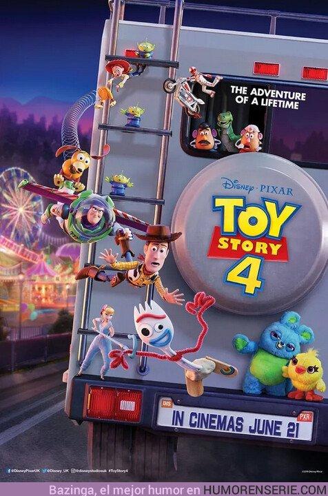 36495 - Nuevo póster de Toy Story 4. Qué ganazas de verla