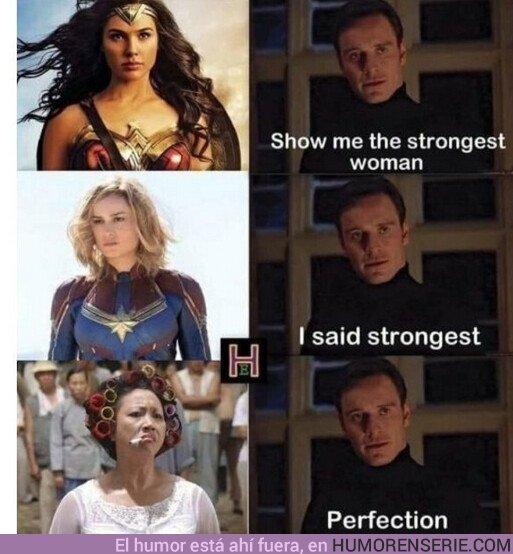36534 - La mujer más poderosa