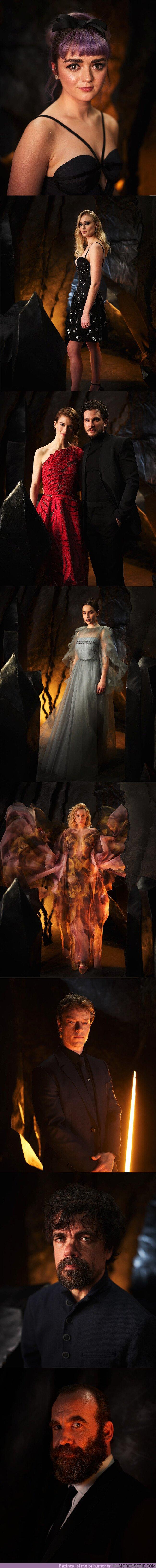 36761 - GALERÍA: Todo el mundo está flipando con las fotos del casting del Juego de Tronos en la premiere de la última temporada