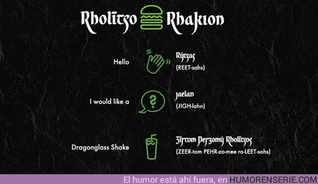 36862 - Abren un restaurante con comida de Juego de Tronos pero solo podrás pedir hablando en Alto Valyrio