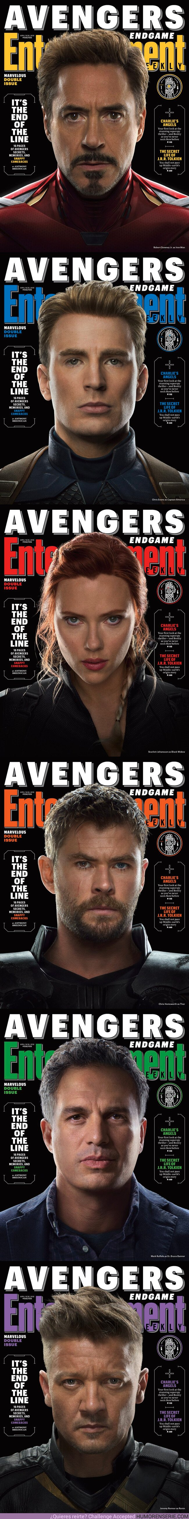 36973 - GALERÍA: Mira las nuevas portadas de Los Vengadores Endgame en EW