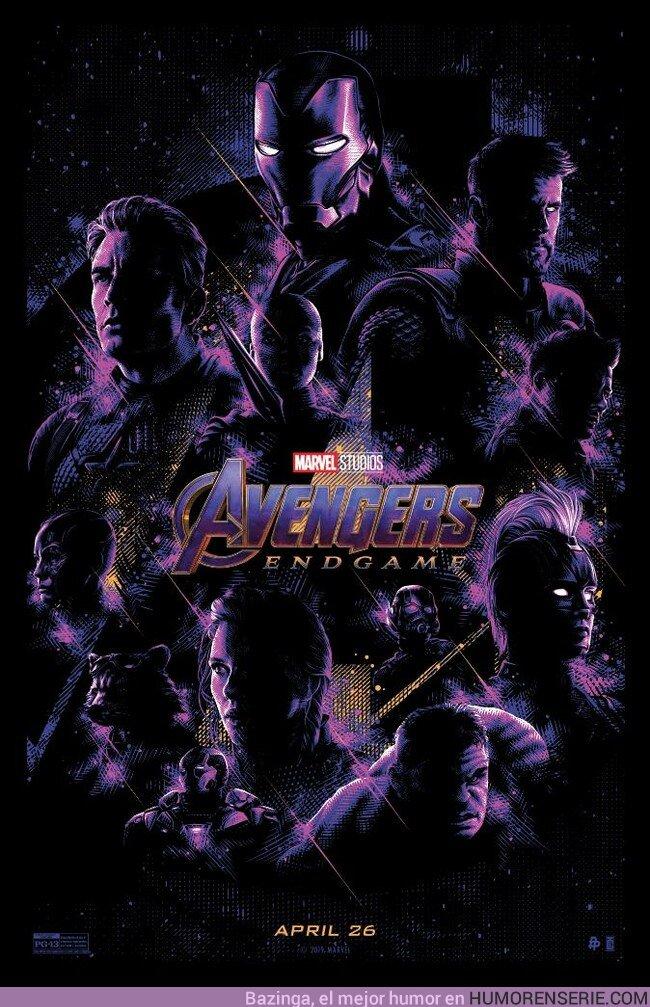 37322 - Mira este nuevo póster de Avengers Endgame. Por TracieChing