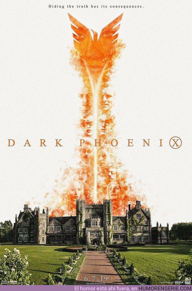 37325 - Nuevo póster de Dark Phoenix. ¿Tienes ganas de verla?