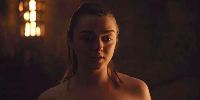37337 - Esto es lo que pensó Maisie Williams cuando leyó el guión de la escena de sexo de Arya