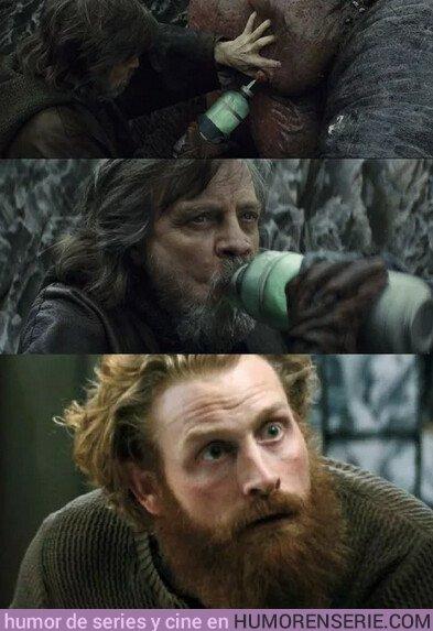 37443 - ¿Y si Tormund es en realidad Luke Skywalker?