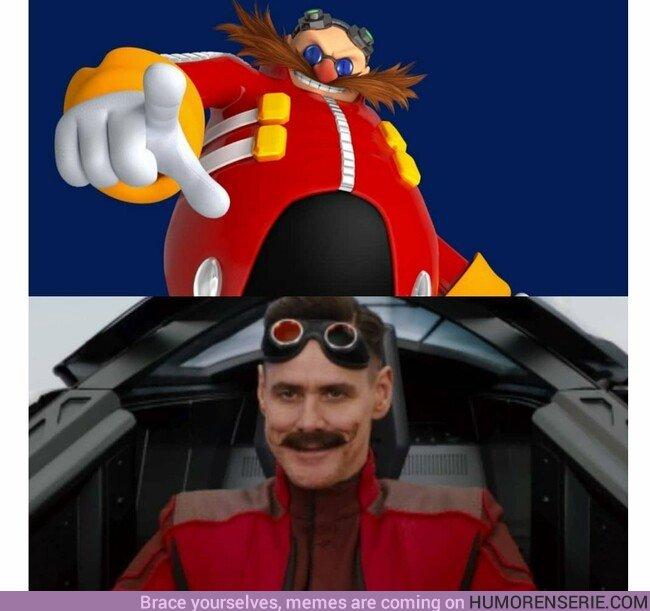 37657 - Así es el Robotnik interpretado por Jim Carrey en la peli de Sonic