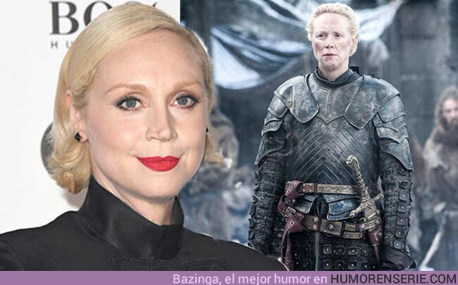 37888 - Gwendoline Christie explica por qué se siente mal por Brienne en el último capítulo
