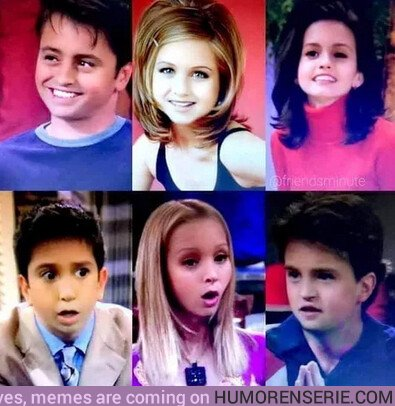 38167 - La versión de Friends rodada por niños