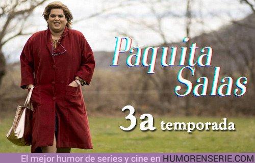 38176 - La nueva cabecera de 'Paquita Salas' (T3) incluye a Isabel Pantoja y a Terelu