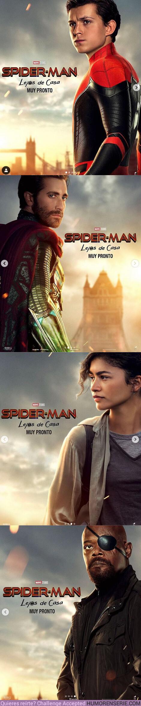 38506 - GALERÍA: Nuevos pósters oficiales de Spider-man lejos de casa
