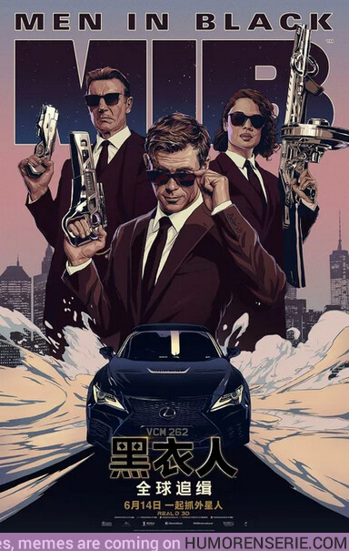 38836 - El póster chino de Men in Black es una pasada