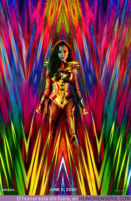 38944 - Primer póster oficial de Wonder Woman 1984