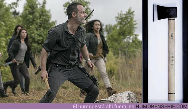 38948 - Este fue el regalo de despedida de Andrew Lincoln a la showrunner de The Walking Dead
