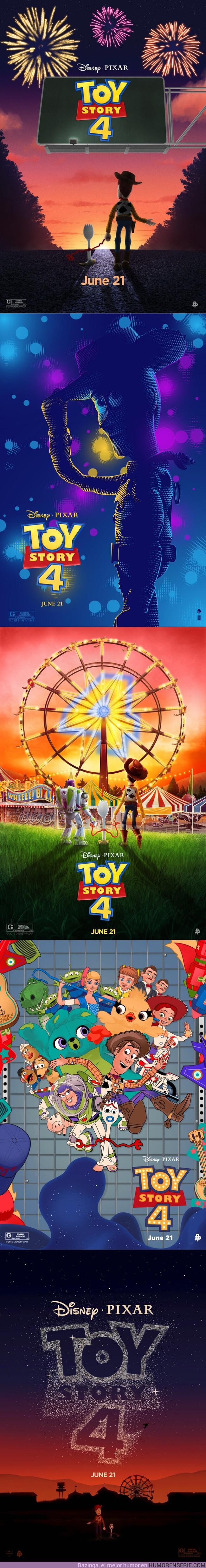 39041 - GALERÍA: Pósters inspirados en Toy Story 4. Lo más bonito que verás hoy