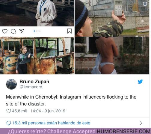39076 - El creador de la serie Chernobyl tiene un mensaje para los influencers