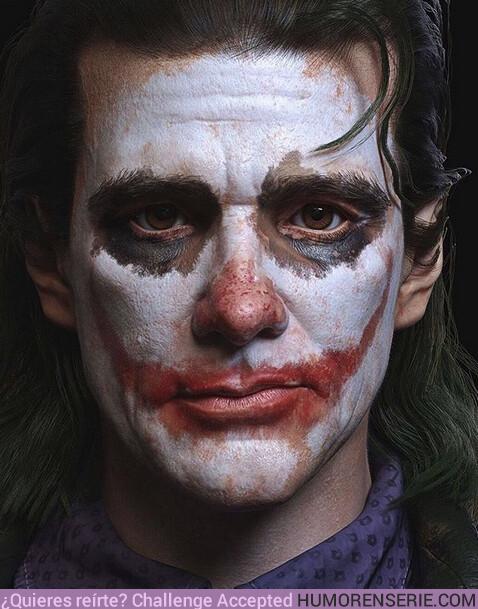 39410 - Así sería Jim Carrey como el Joker