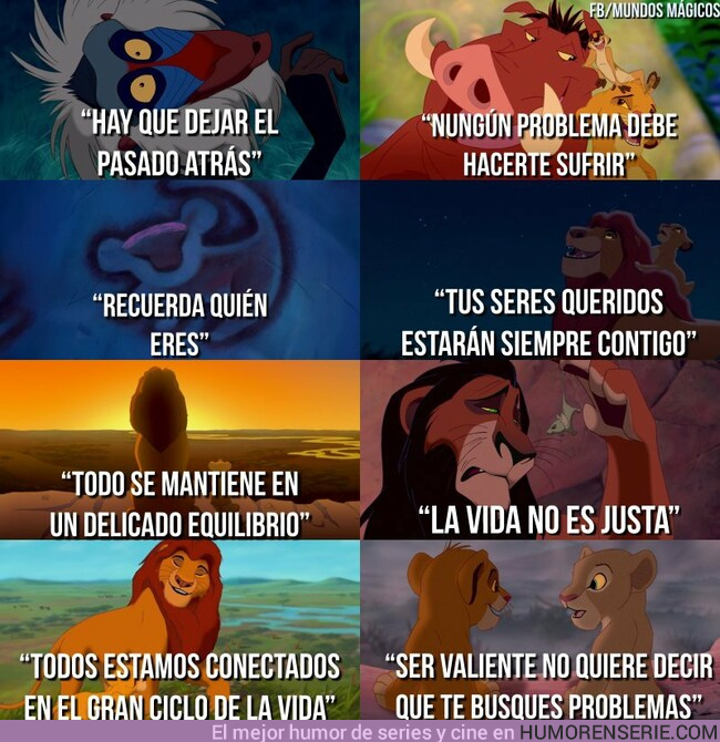 39443 - Lo que nos enseñó El Rey León. Por mundos mágicos
