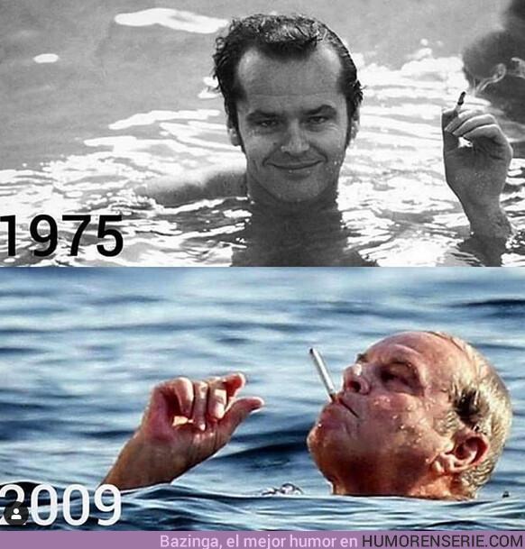 39651 - Jack Nicholson haciendo el 34 year challenge