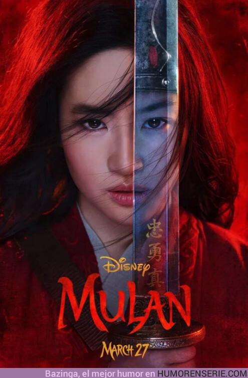 39876 - Primer tráiler de la peli de Mulan