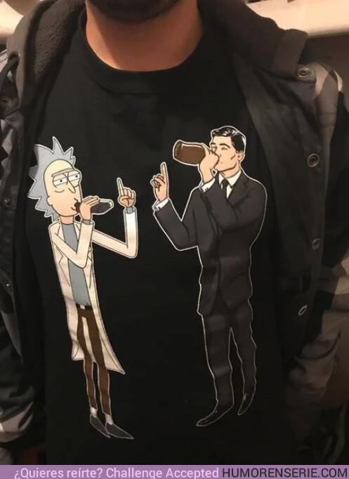 39880 - ¿Quién ganaría en un pique a beber entre Rick y Archer?