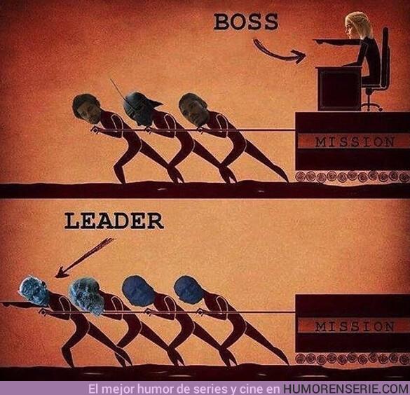 39944 - ¿Prefieres a un jefe o a un líder?