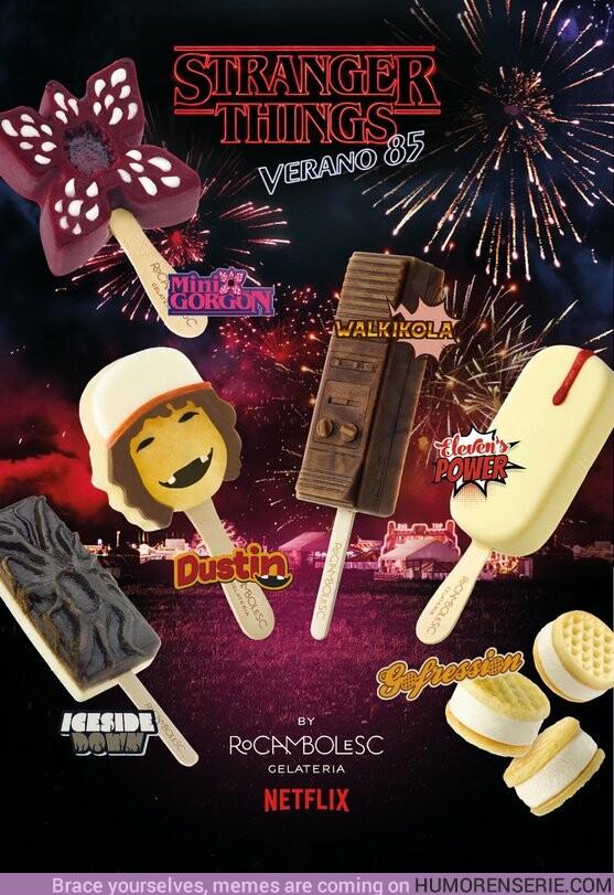 40078 - Jordi Roca ha creado los helados de Stranger Things y puedes probarlos gratis