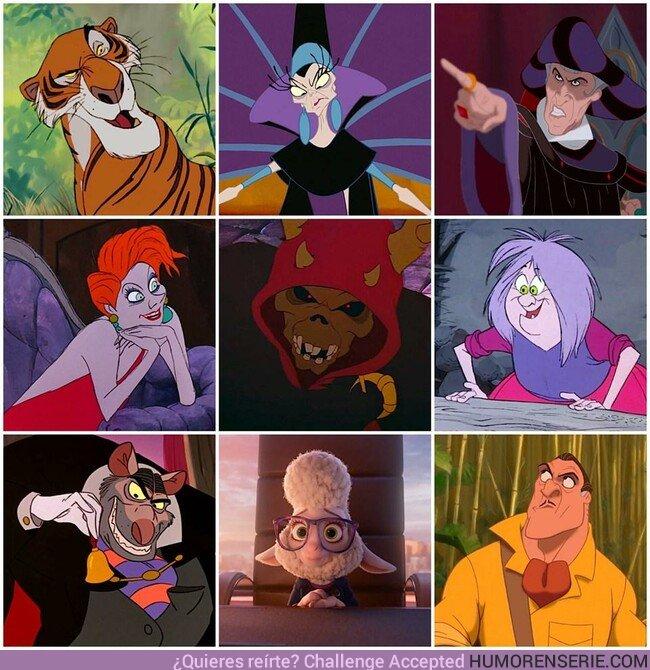 40099 - ¿Cuál de estos villanos es tu favorito?