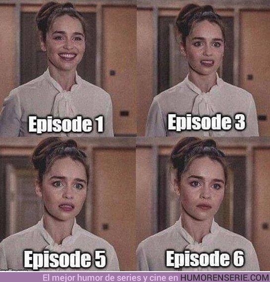 40190 - Emilia leyendo el guión de la temporada 8 de Juego de Tronos