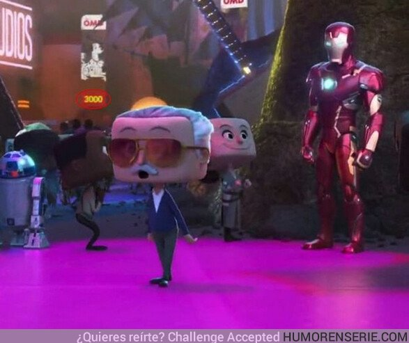 40995 - El cameo de Stan Lee en Ralph Rompe internet