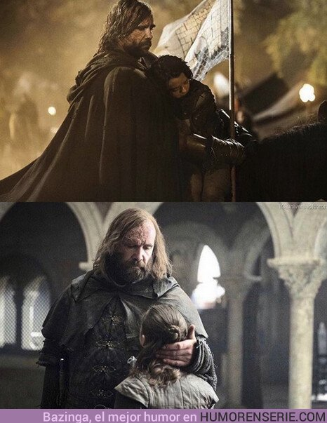 41115 - Gracias Sandor, por cuidar de la pequeña Arya